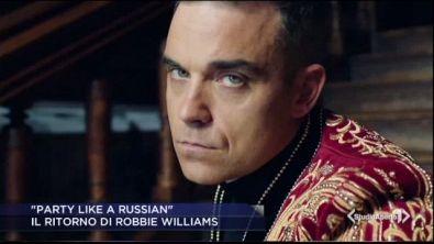 Il grande ritorno di Robbie Williams