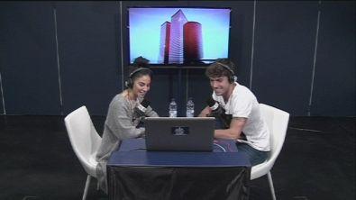 Giulia e Ignazio per Radio GF VIP