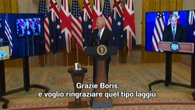 Biden sembra aver dimenticato il nome del premier australiano