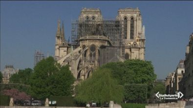 Pasqua a Parigi dopo l'incendio di Notre Dame
