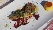 La ricetta dello chef: filetto di branzino con le nocciole