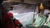 Ragazzo in balia delle onde: slvato dall'elisoccorso