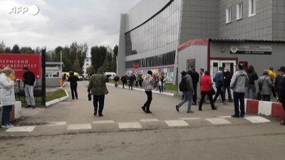Spara all'universita' di Perm, 6 morti in Russia