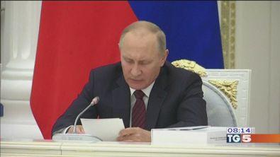 Fallito attentato Putin ringrazia Trump
