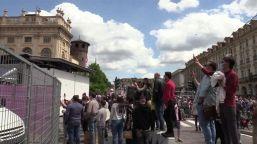 Giro d'Italia, Torino si tinge di Rosa ma senza assembramenti