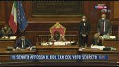 Breaking News delle 21.30 | Il Senato affossa il ddl Zan col voto segreto
