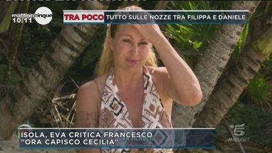 L'Isola dei famosi: Eva Henger attacca Francesco