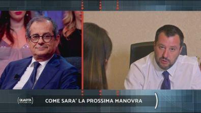 Salvini sulla manovra finanziaria