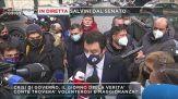 In diretta Salvini dal Senato