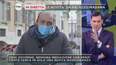 Crisi: le ultime in diretta da Palazzo Madama