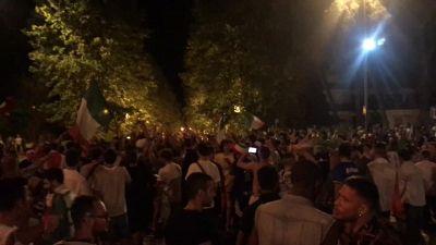 """Europei, grande festa in piazza a Jesi: """"Mancini uno di noi, il merito e' suo"""""""