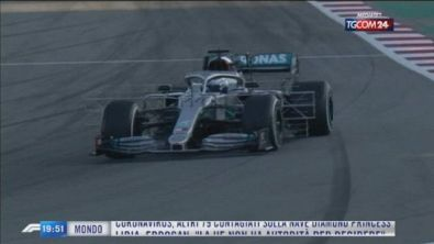 Primi test per le nuove Formula 1
