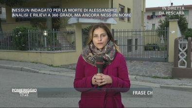 Pescara: Omicidio di Alessandro