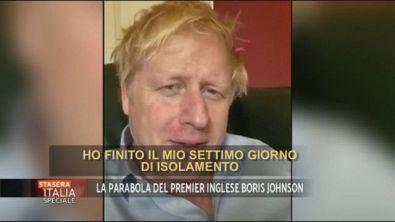 La parabola del premier inglese Boris Johnson