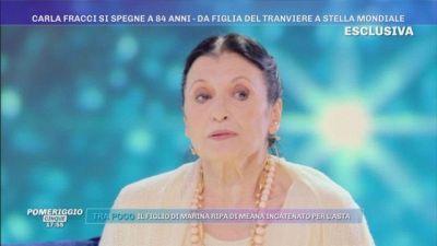 La scomparsa di Carla Fracci: Pomeriggio Cinque ti ricorda così