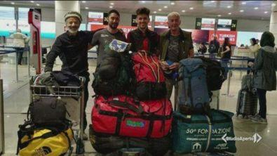 Tutti salvi gli alpinisti italiani