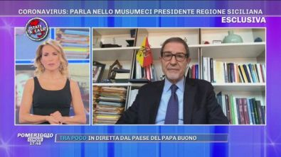 Coronavirus, parla Nello Musumeci presidente regione siciliana