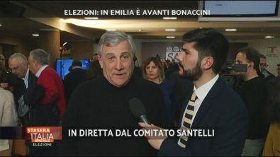 Elezioni: intervista ad Antonio Tajani