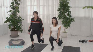 Esercizi cardio insieme a Barbara Cappelli