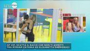 GF Vip: il bacio tra Myriam Catania ed Elisabetta Gregoraci