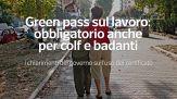 Green pass sul lavoro: obbligatorio anche per colf e badanti