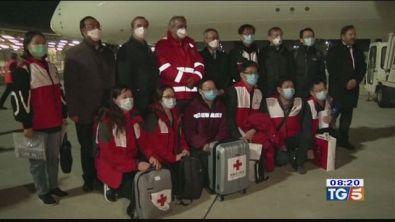 La Cina invia in Italia un team di medici