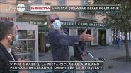 Milano, la pista ciclabile delle polemiche