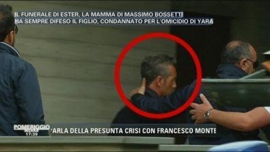 Massimo Bossetti al funeralle di Ester Arzuffi