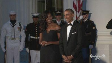 Obama ospite di Clooney