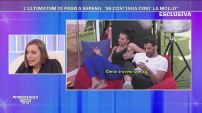 "GFVIP, Karina Cascella: ""Serena Enardu poteva starsene a casa..."""