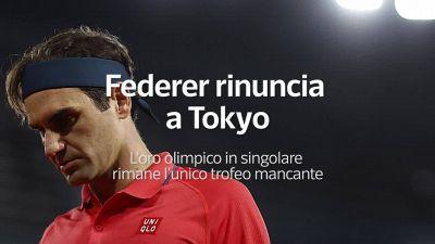 Federer rinuncia a Tokyo