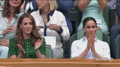 Kate e Meghan unite a Wimbledon