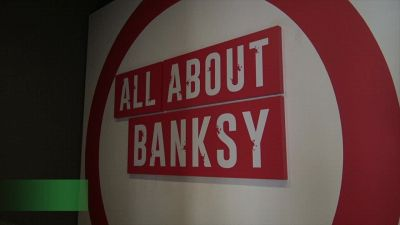 Roma, Banksy in mostra al Chiostro del Bramante
