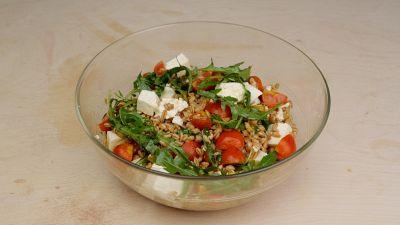 Ricetta dell'insalata di farro
