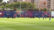 Parte la Champions delle stelle, il Barcellona si prepara al debutto con il Bayern