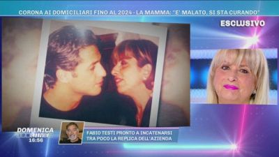 Una sorpresa per la mamma di Fabrizio Corona