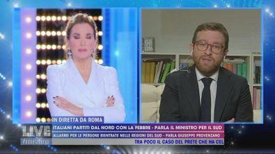 Italiani partiti dal nord con la febbre, parla il Ministro per il Sud