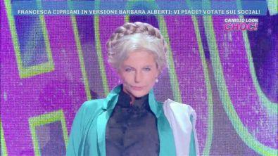 Cambio look choc: Francesca Cipriani