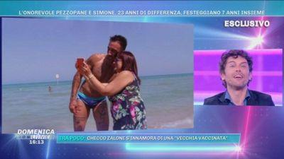 L'onorevole Pezzopane e Simone, 23 anni di differenza, festeggiano 7 anni insieme