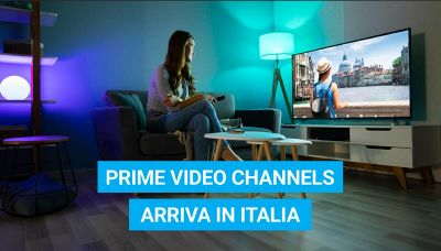 Prime Video Channels arriva in Italia