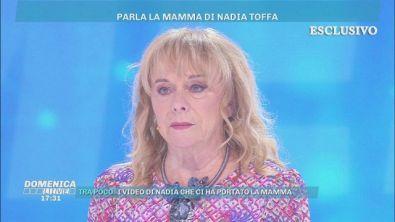 La mamma di Nadia Toffa