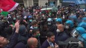 Violenza in piazza, scontri a Roma