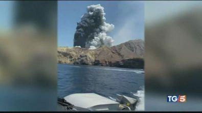 Erutta il vulcano, una strage in Nuova Zelanda