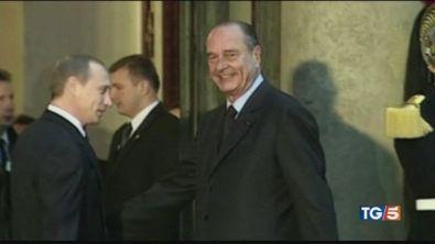 La Francia dice addio a Chirac