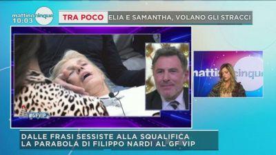 GF Vip: la frase di Filippo Nardi su Maria Teresa