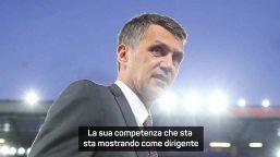 "Baresi: ""Bravo Maldini, lavoro straordinario"""