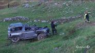 Com'è finita la jeep nel burrone?