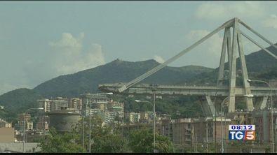 Nuovo video del crollo del ponte di Genova