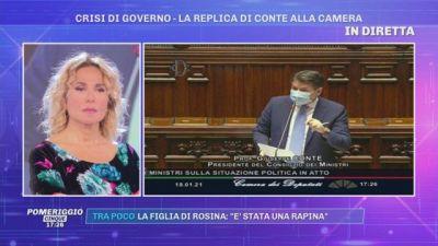 Crisi di Governo - La replica di Conte alla Camera