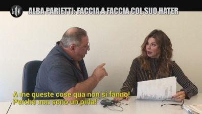 SARNATARO: Alba Parietti: faccia a faccia col suo hater